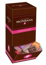 A WORLD OF CHOCOLATE TO Leader in the French market of accompaniment products, MONBANA is your partner in offering the best quality products to your customers.