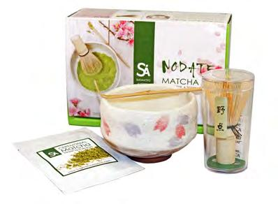 RETAIL PRODUCTS Nodate Matcha Set For outdoor ceremonies (called Nodate ), smaller versions of matcha accessories are used.