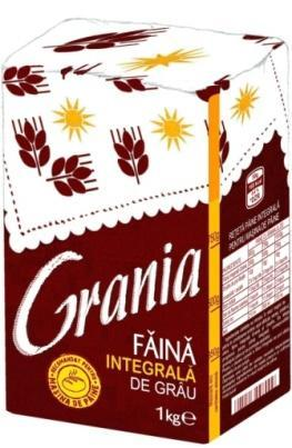 Grania 000 flour for pastries Weight: 1 kg - paper packaging Grania 000 Weight: 1
