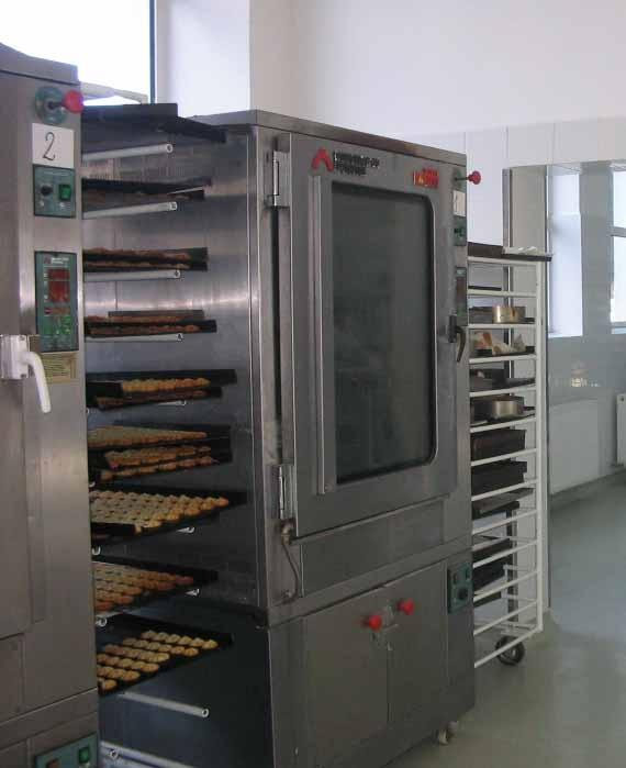 Technology/ Tehnologie : The bakery and sweets factory Main line