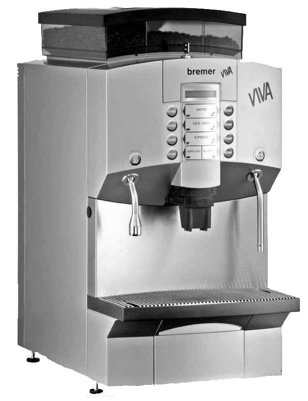 bremer VIVA Operating Instructions Automatic Coffee & Cappuccino ...