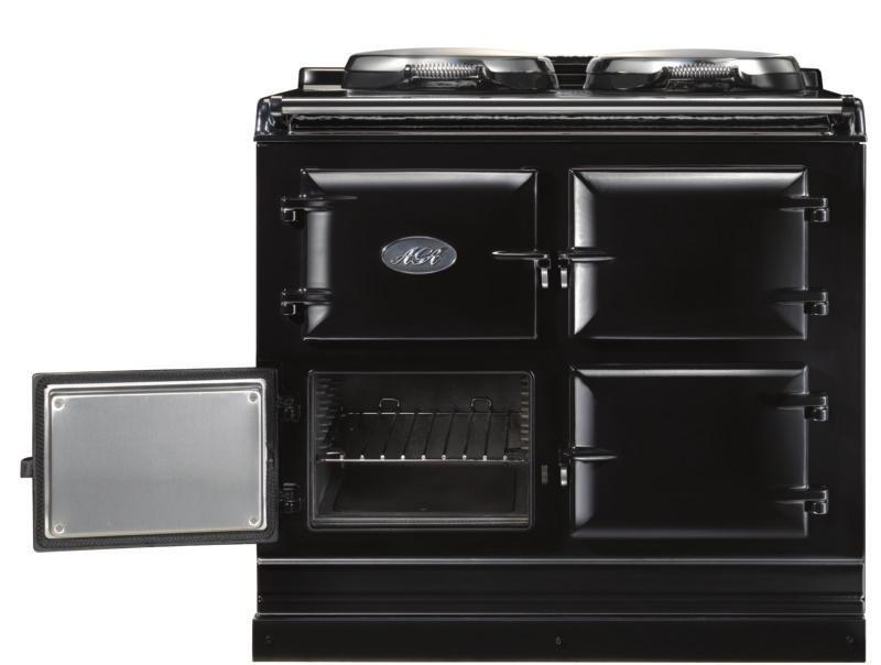 The Baking Oven As with the roasting oven the specially designed roasting tins and bakeware slide directly onto the runners, so almost every available square centimetre of space can be used.