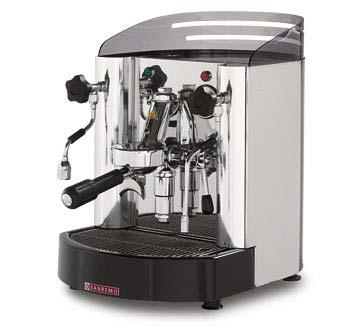 t 7 Semi-professional coffee machine, with sophisticated, stylish lines, the TREVISO model is particularly well suited to small