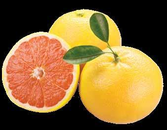 The Texas red grapefruit is high in vitamins A and C, which means eating a Texas red grapefruit or drinking its juice, is good for the eyes and skin, and strengthens the body s immune system against