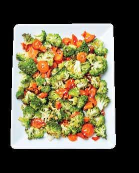 Broccoli stored at 39-41 F will have an approximate shelf life of 5 days. Do not store broccoli in dry storage.