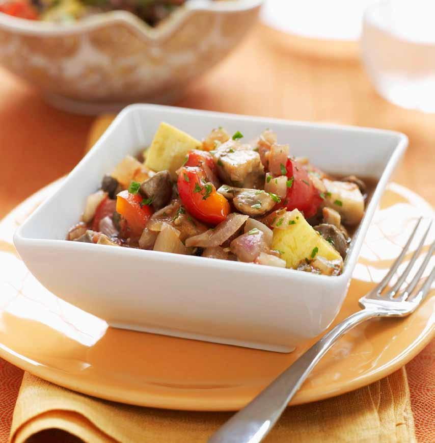 Slow Cooker Ratatouille Get more vegetarian recipes slowcookervegetarian makes 6 servings Prep 15 minutes Cook on HIGH for 3 hours or LOW for 5 hours let stand 20 minutes 1 small eggplant (about 1