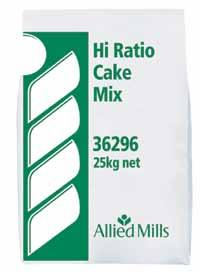 CAKE Cake Collection Utility Cake Mix Multi-purpose, versatile, consistent and economical cake mix that delivers a superior cake every time with fine, even internal crumb structure.