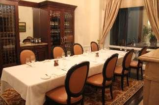 The Ginter Room, also known as our Wine Experience Room, is our smallest private dining room. This room houses Lemaire s prestigious wines in a humidity and temperature controlled custom cabinet.
