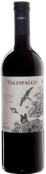 Valdifalco Franz Josef Loacker e Hayo Loacker Organic since 1978 courageous Lodolaia Maremma Toscana IGT Rosso Varieties: 100% Syrah Production techniques: the harvest is done by hand, always one of