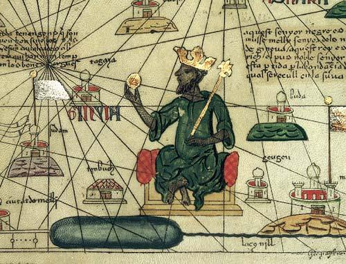 Mali In 1324 Mansa Musa made a pilgrimage ( a journey to a holy place) to Mecca, with 60,000 servants and followers and 80 camels carrying more than 4,000 pounds