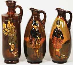$1000 (1200 1400) 140 141 142 in yellow raised letters to rear, Royal Doulton pm, fine crazing, Very R$450 (500 700) 127.