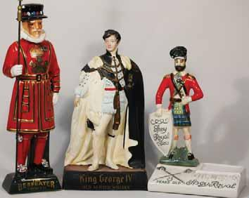 5ins tall, ceramic figure, GILBERY S 8 YEAR OLD SPEY ROYAL, no pm, Very Good R$225 (250 300) 4.
