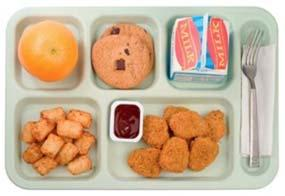 Carb counting Cheese Quesadilla, 1 piece 1 oz eq grain, 1 oz meat alternate 16g carb Salsa, ¼ cup ¼