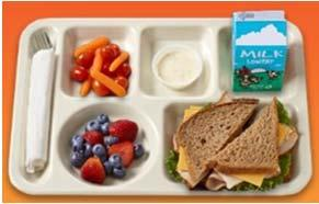 oz 1 ½ oz meat alternate 25g carb Banana, 1 each ½ cup fruit 27g carb 1% milk, 8 floz 1 cup milk