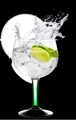 GIN AND TONIC TANQUERAY QUATRO 250 Tanqueray gin, tonic water, lime wedge and