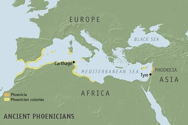 Phoenicians The Phoenicians developed a series of powerful