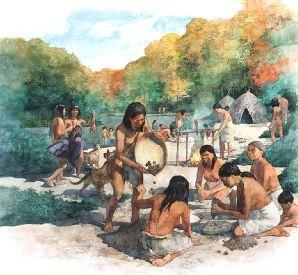 Before Civilizations Men and women of the stone age were Nomads Nomads- Highly mobile people who moved from place to place searching