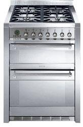 "A42-5 classic 70CM ""Opera"" Dual Cavity Cooker with Multifunction Oven and Gas hob Energy rating A (Main oven Energy rating B (Auxiliary oven) EAN13: 8017709073466 *Special promotion on this model* 5"