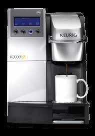 FLAVORED COCOA DECAF FRUIT BREW ROAST PROFILE TEA REGULAR COFFEE #1 Keurig ranked #1 coffee solution by Food Service decision makers, selected 7 to 1