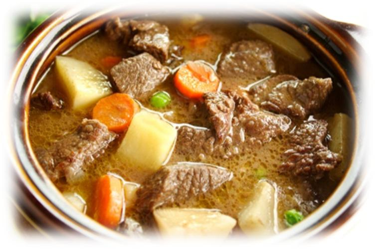 Slow Cooker Chunky Beef & Potato Stew 1 lb.