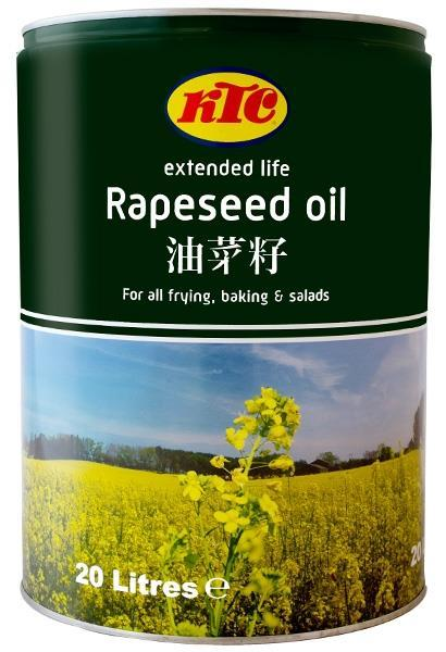 Refined Oils & Speciality Cold Pressed Oils 20L KTC Vegetable Oil 16.
