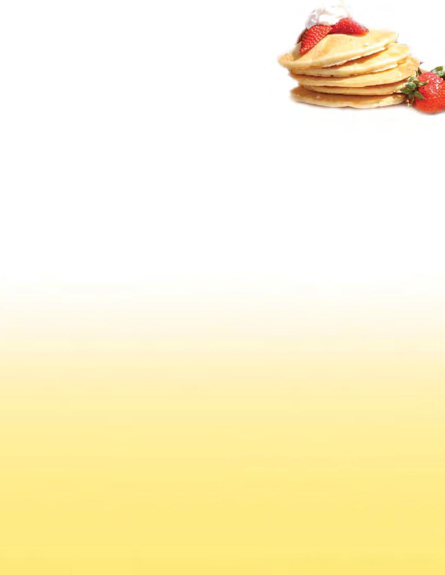 Strawberry Pancakes Calories: 308.7 Cholesterol: 3.3 mg Total Carbs: 52.6 g Protein: 11.