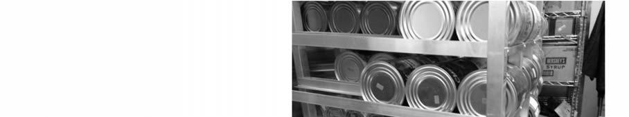 PREVENTING CROSS CONTAMINATION AND HAZARDOUS TEMPERATURES Facility refrigerators and freezers are at