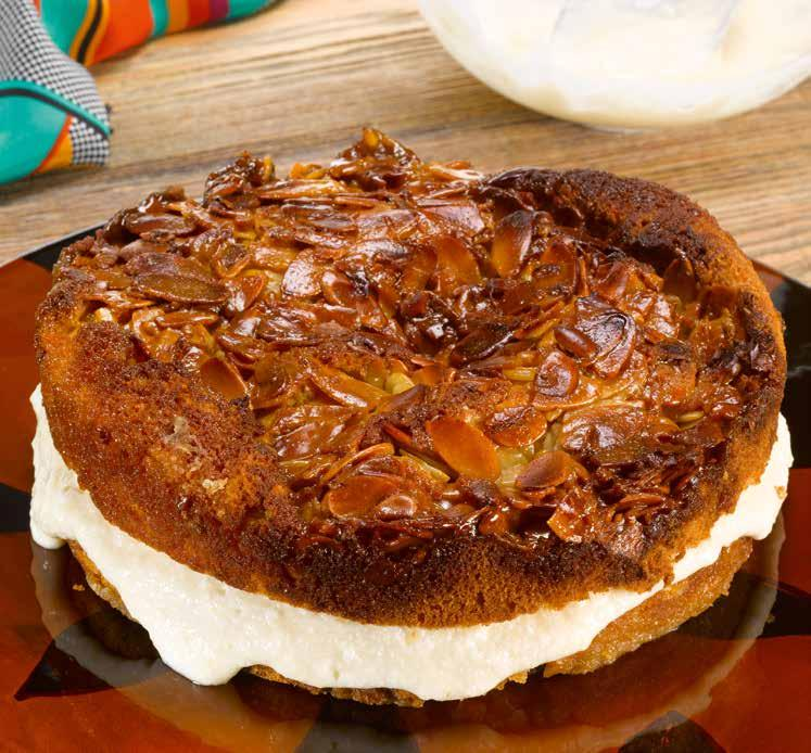 SOUTH AFRICA Bienenstich Bee Sting Cake prep 40 mins/bake 35-45 mins There are several stories behind the name of this cake but the one I am choosing to believe is that the baker who invented it was