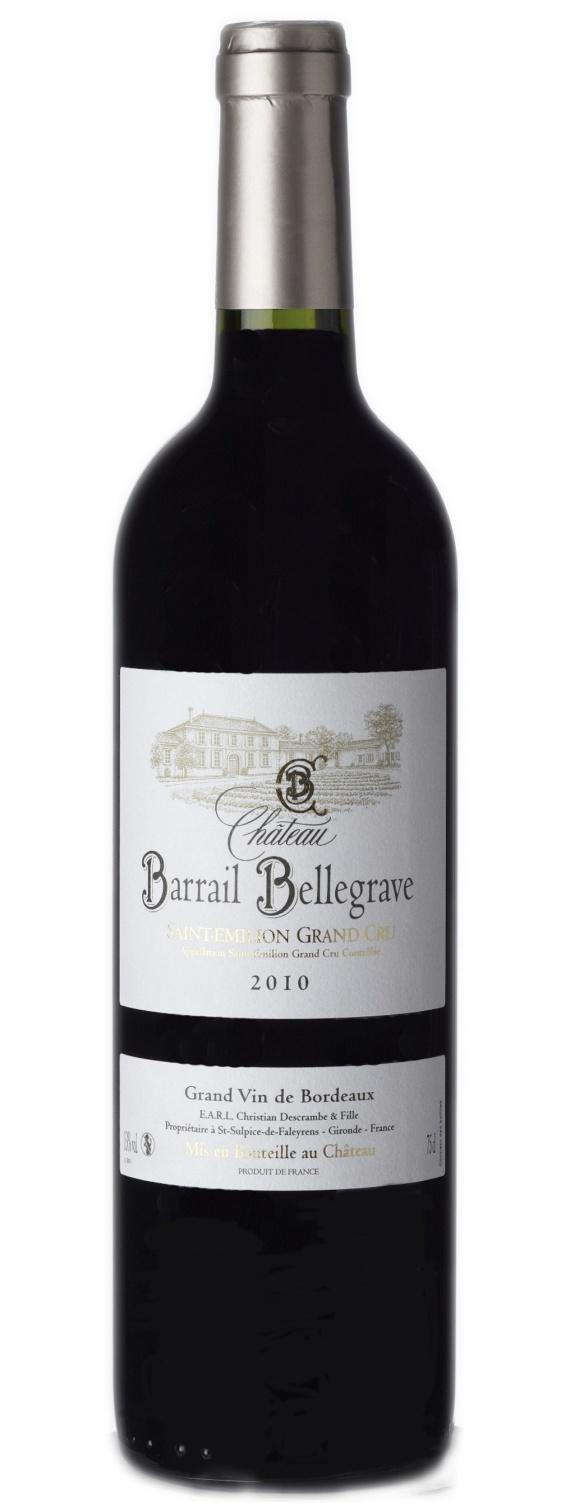 SAINT-EMILION A.O.C. 2011 GRAND CRU CHATEAU BARRAIL BELLEGRAVE REF: BOR106 It is in July 2010 that Hermine, in place since 2004, replaced his father.