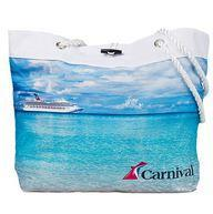 Carnival Logo frisbee, facial and