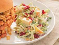Vidalia Onion Broccoli Slaw ½ cup Vidalia Onion Dressing ½ cup mayonnaise 1 (12 ounce) package broccoli slaw mix 1 small apple, chopped ½ cup dried cranberries ¼ cup finely chopped green onions
