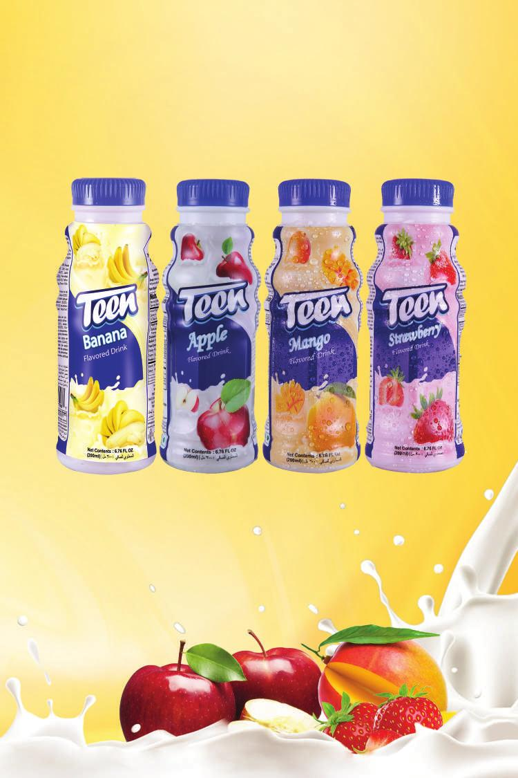 Dairy Derivatives Product Teen Flavoured Drink Banana/