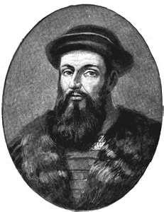 Ferdinand Magellan Portuguese Sailed around the tip of South America