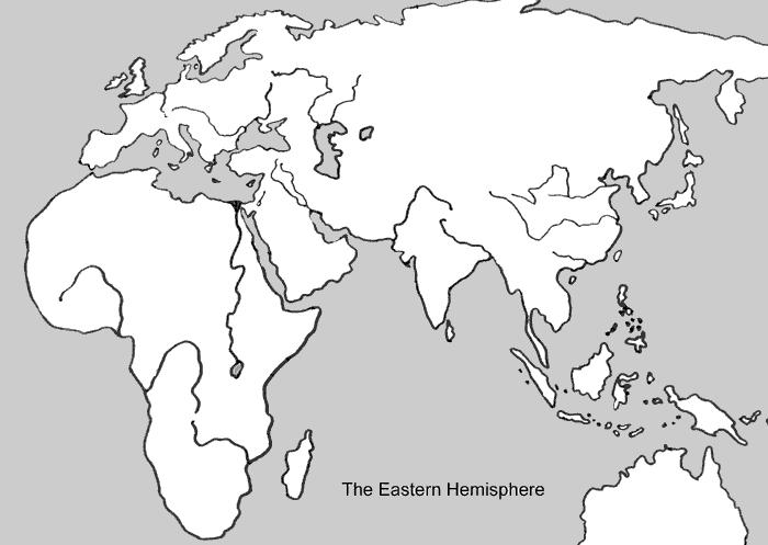 Eastern Hemisphere in the