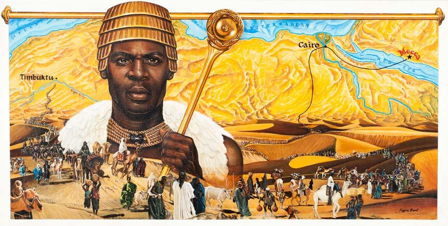 Mansa Musa, was the emperor of the 14th century Mali