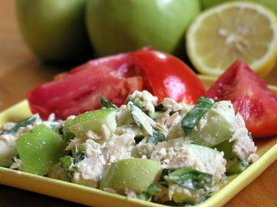 Curry Tuna and Apple Salad 1 6-oz.