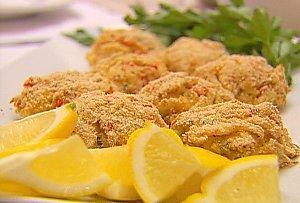Crab Cakes Nonstick cooking spray 1 egg, lightly beaten 2 teaspoons Dijon mustard 1 teaspoon Worcestershire sauce 1 tablespoon fresh lemon juice Dash of hot sauce 1/2 tsp crab boil seasoning