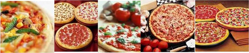 Pizza Available in regular and whole wheat crusts Cut to your specification - 6, 8 or 12 slices per pizza the vegetarian $21.