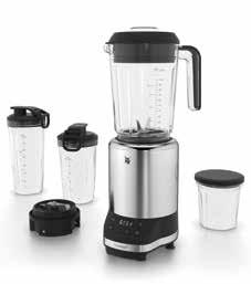 Mixer Mixer KULT pro Power Green Smoothie Blender 2,0 l Item no. 04 1639 0011 EAN 4211129 118750 3 AUTOPROGRAMS WMF Multi Function Cromargan matt WMF High Performance Motor with 2.