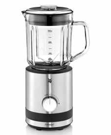 only with fitted glass jug Inkl. GU-Rezeptbuch Table Blender 1,8 l Item no. 04 1628 0011 EAN 4211129 107983 Cromargan matt 1,400 watts of power Capacity: 1.