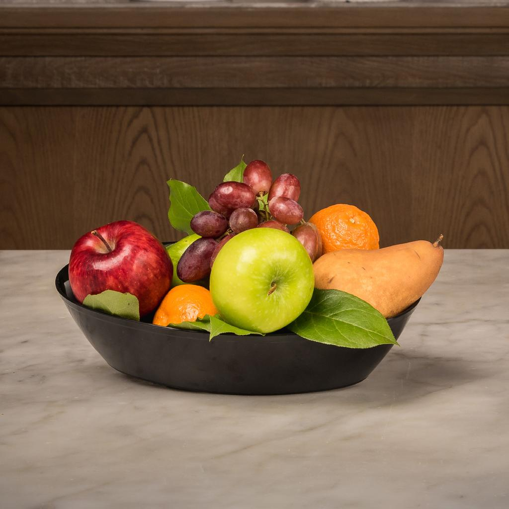 FRUIT BOWL 30 7 Pieces of Assorted Seasonal Fruit Add 2 Bottles 500ml Fiji