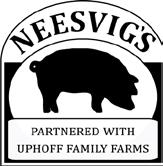 Neesvig s is the exclusive distributor of Uphoff s Certified ABA Hogs; from whole hogs to lard to boneless sirloin ends.