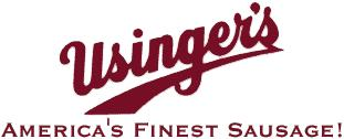 All of Usinger s sausage products are made with all fresh ingrediants and are crafted with original German recipes that Frederick Usinger brought over in 1880.