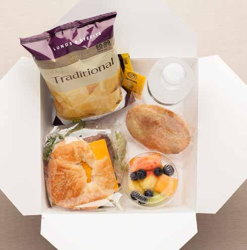 or Boardroom Box Lunches and receive