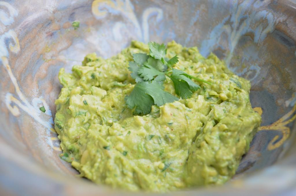 Guacamole Servings 2 Total Time: 0 minutes Cook Time: 0 minutes Calories 3 Carbohydrate 2g Protein 2g Fat 2g 4 large avocado(s) peeled and seeded 2 medium garlic clove(s) minced medium lemon(s),