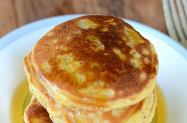 Paleo Cassava Flour Pancakes Total Time: 5 minutes Cook Time: 5 minutes Calories 253 Carbohydrate 33g Protein 5g Fat 8g 6 large egg(s) / 2 cup(s) coconut oil melted / 2 cup(s) almond milk,