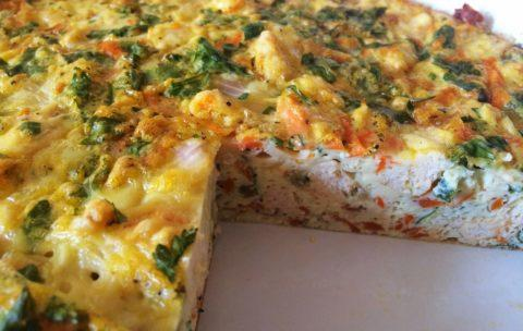 Turkey Carrot Quiche Total Time: 60 minutes Cook Time: 60 minutes Calories 276 Carbohydrate 8g Protein 23g Fat 7g 6 large egg(s) pound(s) turkey, ground 2 large carrot(s) shredded 2 medium onion(s)