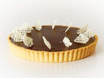 LARGE TARTS LEMON TART Fred s famous shortbread shell filled with a zesty lemon curd CHOCOLATE TART A rich dark chocolate fudge topped with our famous chocolate