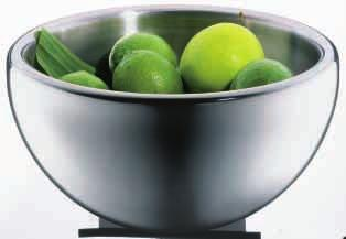SORA double wall salad bowl stainless steel ø 15 cm/ø 6 inch 1651 MORA double wall salad bowl