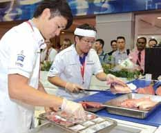 00pm Norwegian Seafood Council s Ambassador Chef - Cooking Demonstration (2nd Session) 29 September 2017 12.00nn - 1.